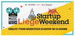Startup Weekend Liège Music Tech edition
